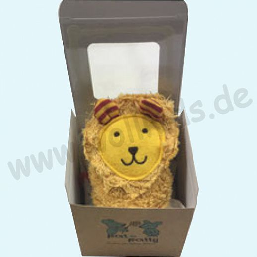 Pat & Patty: Schnuffeltuch Schmusetuch Spuktuch Löwe 100% kbA Baumwolle