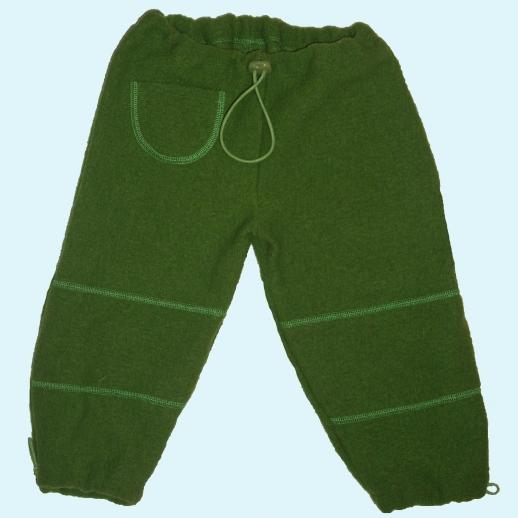 Pfiffige Schlupfhose grasgrün Wollwalk Hose