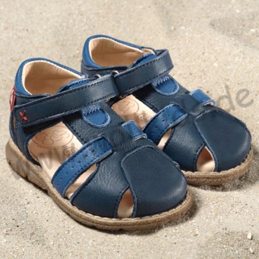 POLOLO: Playa Lauflerner BIO ÖKO Leder pflanzliche Gerbung Sandale- 3 Farben