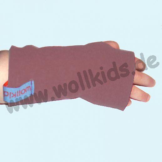 Walk-Pulswärmer für Baby & Kind - ökologisch - warm - weich - altrosa