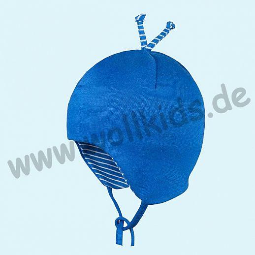 NEU: UV Schutz Sommermütze Baby Mütze aus feiner Bio Baumwolle