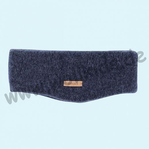 PURE PURE by Bauer: Strinband, Ohrenwärmer Headband kbT Schurwolle Wollfleece jeans