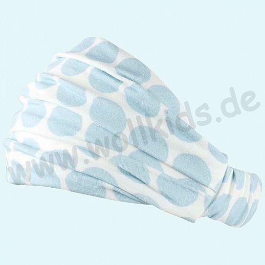 NEU: Sonnenschutz Badana Haarband Kopftuch mit UV Schutz UPF 15-20 - dots blue