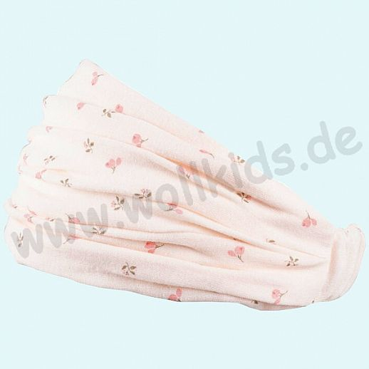 NEU: Sonnenschutz Badana Haarband Kopftuch mit UV Schutz UPF 15-20 - Pfirschblüte