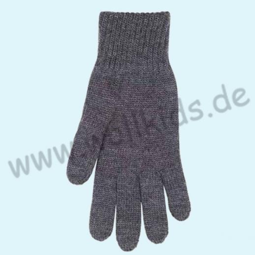 NEU & GENIAL: Endlich auch für Herren... Fingerhandschuhe aus reiner Schurwolle