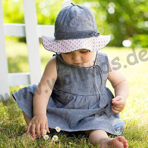NEU: UV Schutz Mütze Hut - Sonnenhut - für Mädchen - bezaubernd