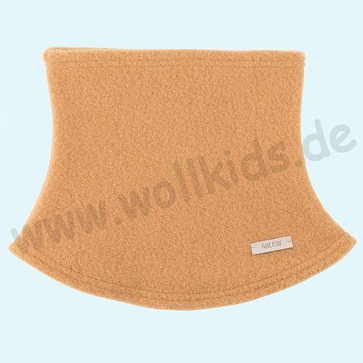 PURE PURE by Bauer: Schal, Halssocke, Schlupfschal Schal kbT Schurwolle Wollfleece bernstein