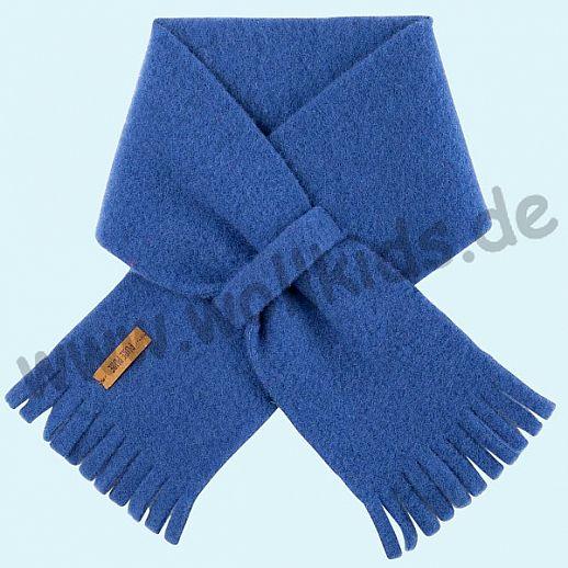PURE PURE by Bauer: Schal, Schurwollfleece kbT Schurwolle Wollfleece - blau