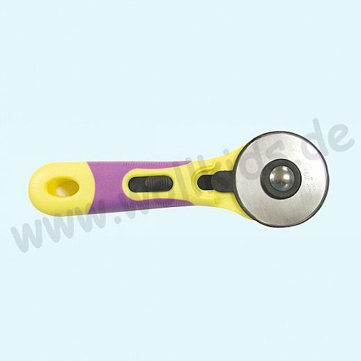 XSOR - Rollenschneider groß - 60mm - Rollschneider - für Stoff und vieles mehr - Edelstahl - super Qualität