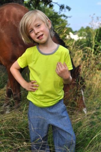 SALE: Storchenkinder T-Shirts kbA Baumwolle Shirt BIO Baumwolle