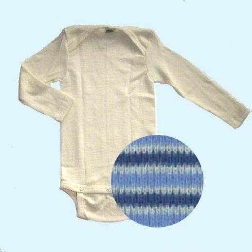 SALE - Abverkauf: Hemdhose - Langarm - Natur - Wolle