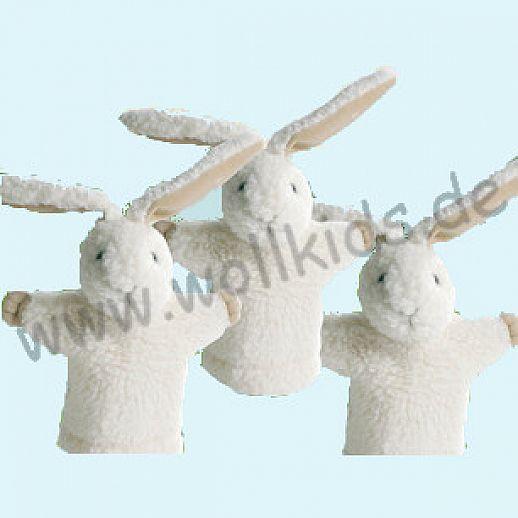 Handpuppe Hase - Schmusetiere Wolle - Schurwolle - SALING