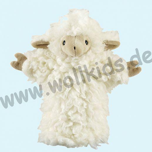Handpuppe Schaf - Schmusetiere Wolle - Schurwolle - SALING