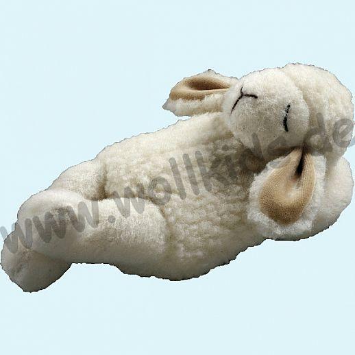 Schaf liegend - Schmusetiere aus Wolle - Kuscheltier aus natürlicher Schafwolle