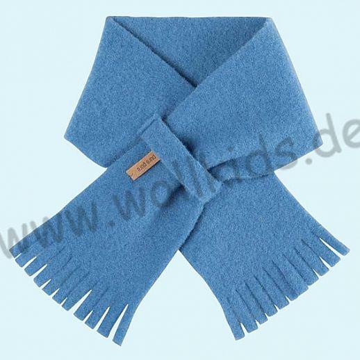 PURE PURE by Bauer: Schal, Schurwollfleece kbT Schurwolle Wollfleece - azur blau