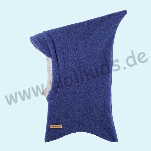NEU: Pure-Tex Weiche Wollfleece Mütze Schlupfmütze Schal Schalmütze, GOTS, kbT Schurwolle blueprint