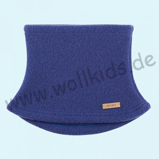 PURE PURE by Bauer: Schal, Halssocke, Schlupfschal Schal kbT Schurwolle Wollfleece nautic  blueprint blau