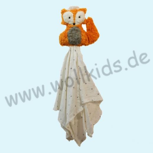 Pat & Patty: Schnuffeltuch Schmusetuch Spuktuch Fuchs 100% kbA Baumwolle