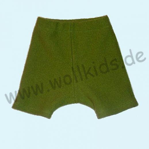 Shortie Bermuda Hose in apfel Öko-Walk 100% Schurwolle WOLLKIDS