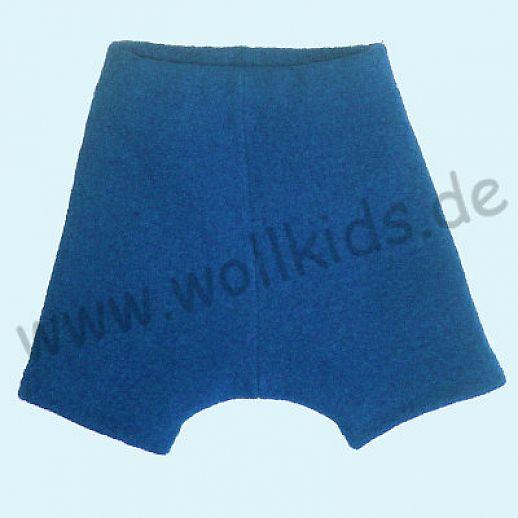 Shortie Bermuda Hose in jeans Öko-Walk 100% Schurwolle WOLLKIDS