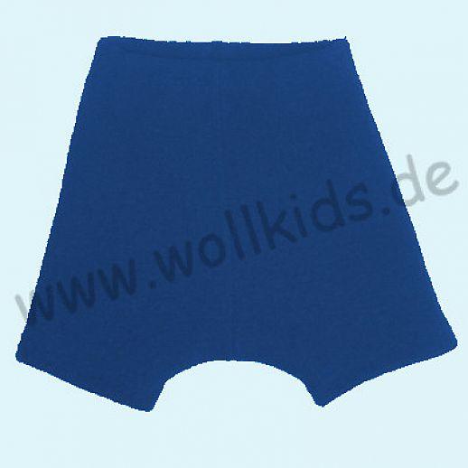 WOLLKIDS Mini-Shorts Bermuda Hose in navy Walk 100% Schurwolle ab 110-116