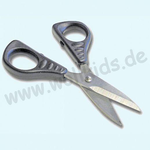 XSOR - Stoffschere klein - 13,5cm - für Stoff & Leder - Edelstahl - super Qualität