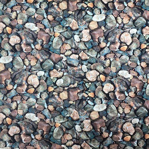 Swafing Kieselsteine - Baumwolle - Webware - tolle Qualität - wunderschön Steine braun