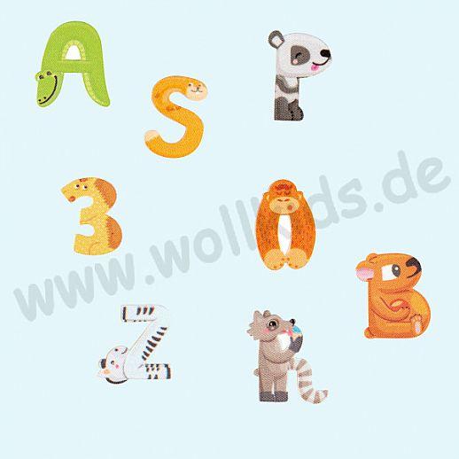 ☆ Buchstaben ☆ Zahlen ☆ Applikation ☆ Namen ☆ Tiere ☆