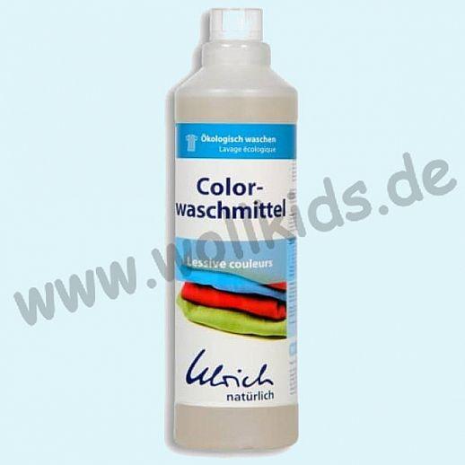 Ulrich natürlich: Colorwaschmittel Konzentrat für alles Bunte