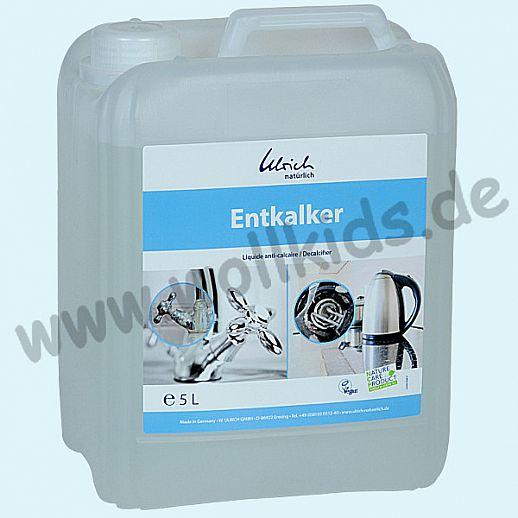Entkalker - Ulrich natürlich 5L Kanister - Milchsäure - natürlich kalkfrei
