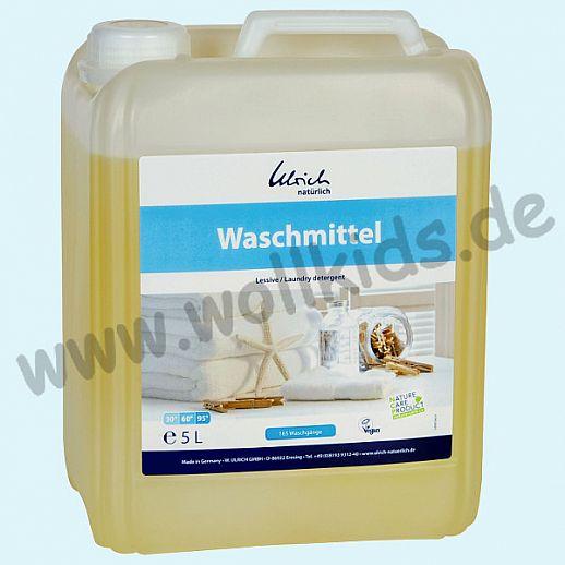 Ökologisches Waschmittel von Ulrich natürlich - 5 Liter Kanister