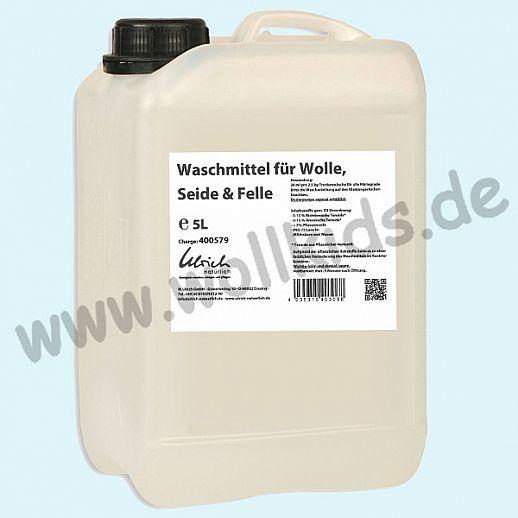 Ulrich natürlich: Waschmittel für Wolle, Seide und Felle mit Lanolin - 5l Kanister