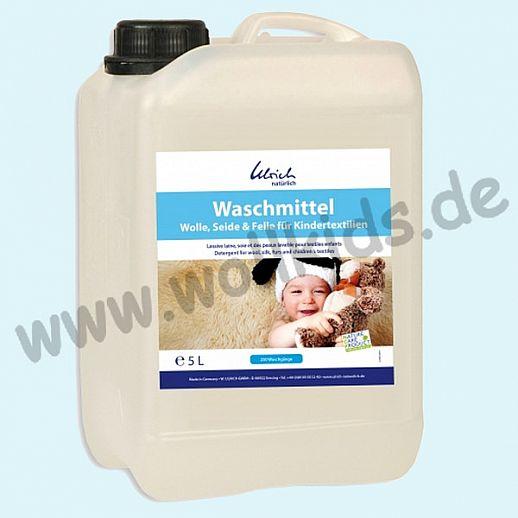 Ulrich natürlich: Waschmittel für Wolle, Seide und Felle für Kindertextilien - 5l Kanister