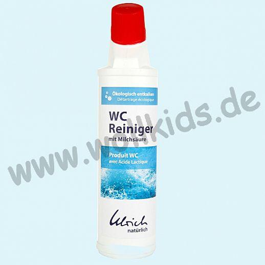 Ulrich natürlich: WC Reiniger 750ml Flasche reingt natürlich mit Milchsäure