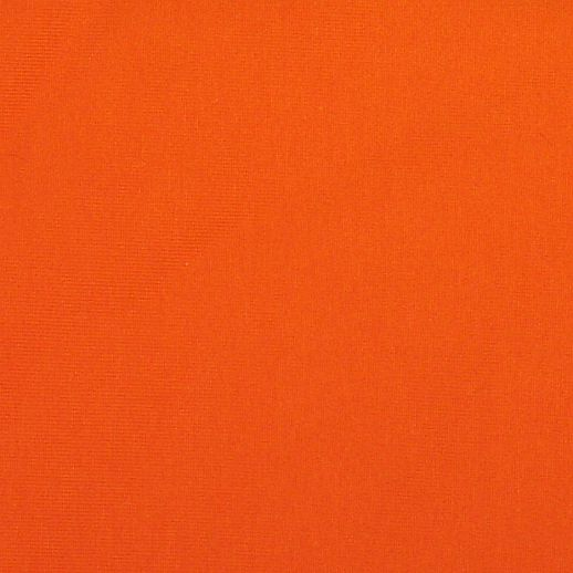 Jersey - uni orange - genialer Kombistoff - 100% Cotton