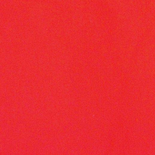 REST 41cm: Jersey - uni rot knallrot - 100% Cotton