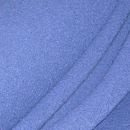 REST Hochwertiger Walkstoff - 100% Schurwolle - blau 45cm aus Italien