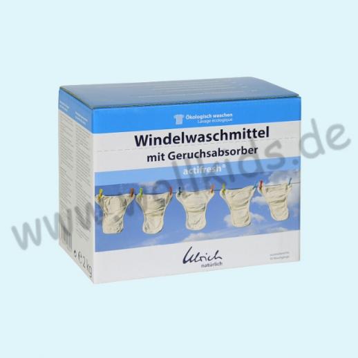 Ulrich natürlich: Waschmittel für WINDELN mit Geruchsabsorber acitfresh 2kg Pulver