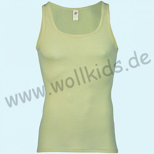 ENGEL: Herren Achselhemd -Trägerhemd - Hemd - Wolle Seide natur BIO