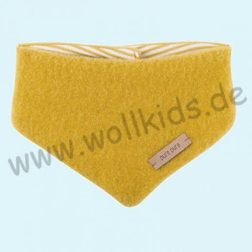 NEUE FARBEN: Puretex Schal, Halstuch, Tuch, Dreiecktuch kbT Schurwolle Wollfleece