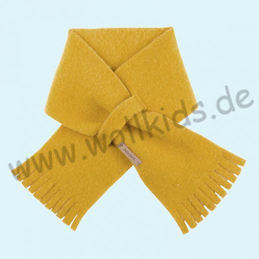 PURE PURE by Bauer: Schal, Schurwollfleece kbT Schurwolle Wollfleece - lemon curry