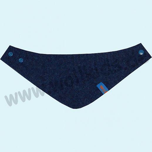 NEU: Halstuch, Schurwollwalk, Schurwolle Doubleface - sehr kuschelig - jeans natur