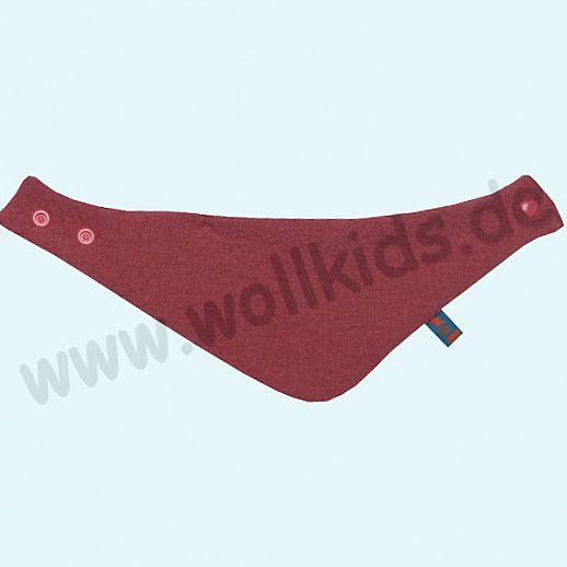 NEU: Halstuch, Schurwolle Halstuch Walk gefüttert mit weichem Baumwoll-Jersey himbeer Streifen rosa