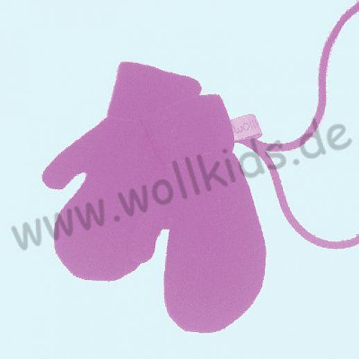 WOLLKIDS Walk-Handschuhe Walk Ökowalk altrosa - Handschuhe die an der Hand bleiben!!