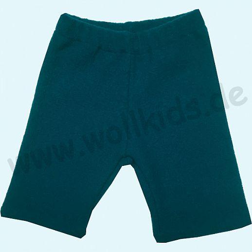 WOLLKIDS Midi Shorts petrol Walkshorts Schurwolle Hose Walk