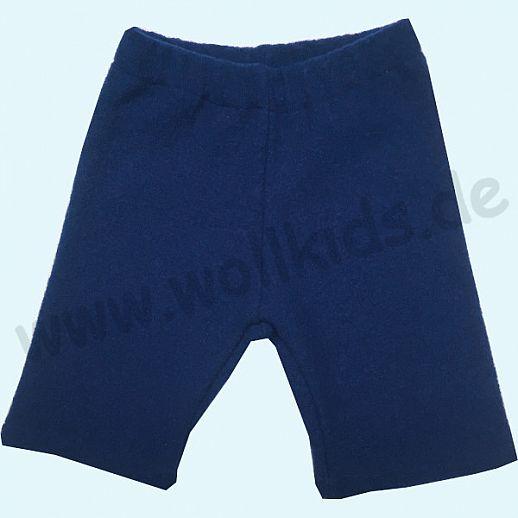 WOLLKIDS Midi Shorts navy Walkshorts Schurwolle Hose Walk