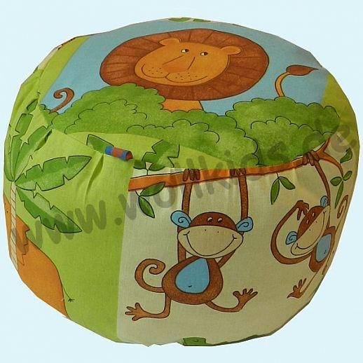 Wollkids Sitzkissen Safari - Sitzhocker - Kinderzimmer - Mediationskissen