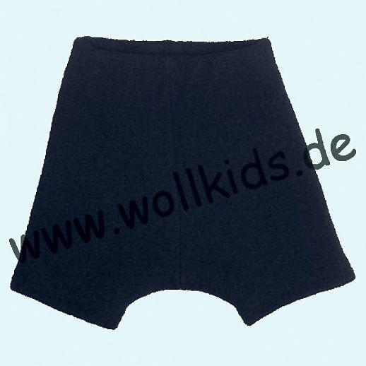 WOLLKIDS Mini-Shorts Bermuda Hose in anthrazit Walk 100% Schurwolle ab 110-116