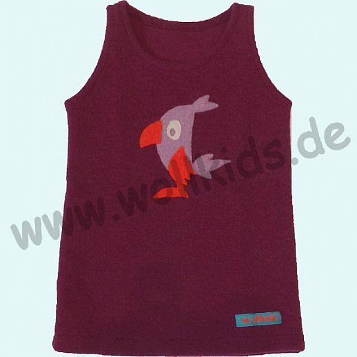 NEUER SCHNITT: Walk-Kleid beere Birdy - zuckersüß - Reine Schurwolle