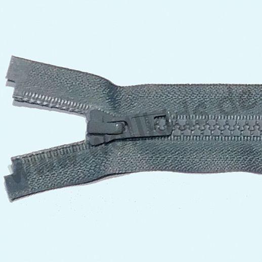 NEU: YKK Reißverschluß - ideal für Jacken - teilbar - super Qualität - hellgrau